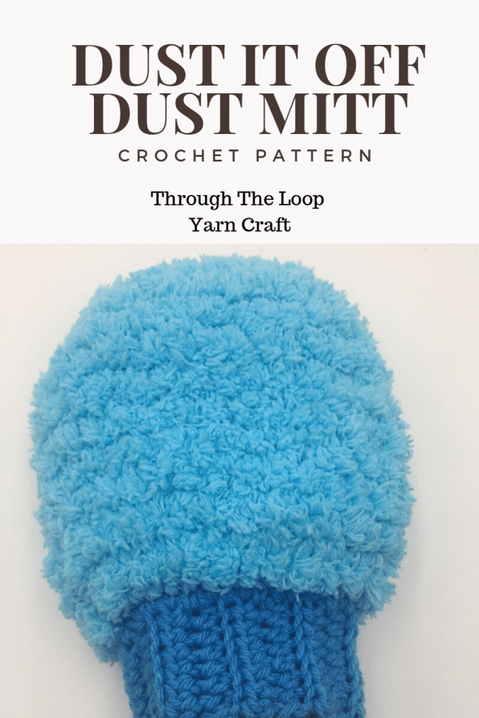 The Dust it Off Dust Mitt works great at collecting dust and unwanted particles. This quick pattern is a great way to use up Pipsqueak yarn!