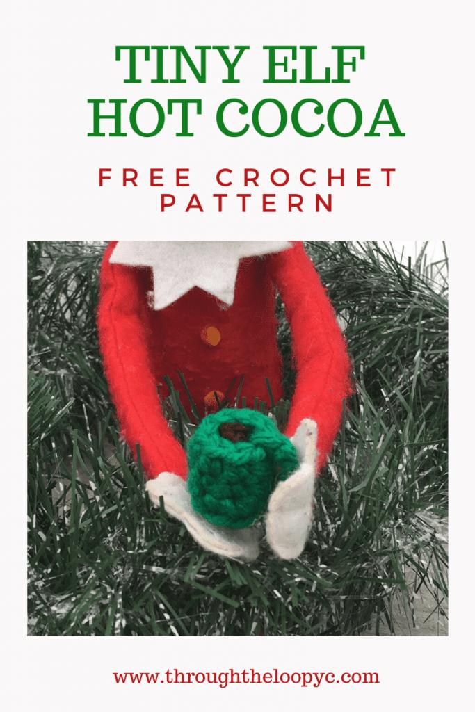 Tiny Elf Hot Cocoa Free Crochet Pattern