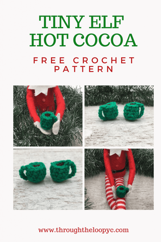 Tiny Elf Hot Cocoa Free Crochet Pattern