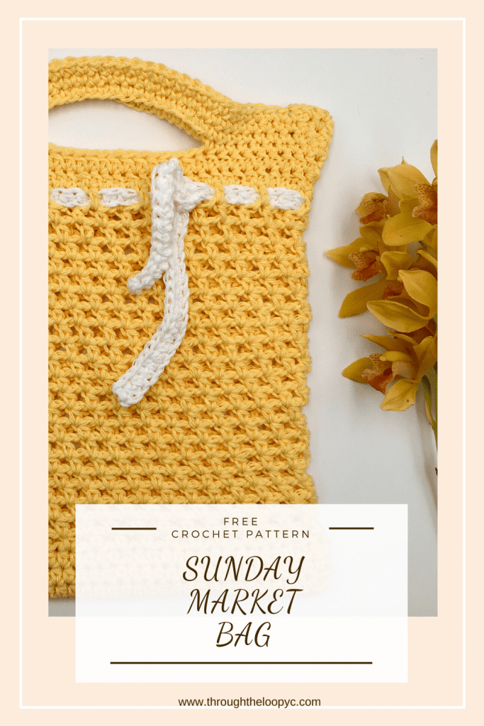 Sunday Market Bag Crochet Pattern