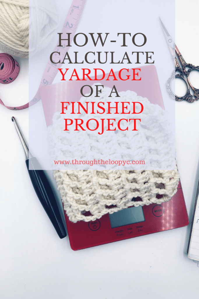 How To Calculate The Yardage of a Finished Project