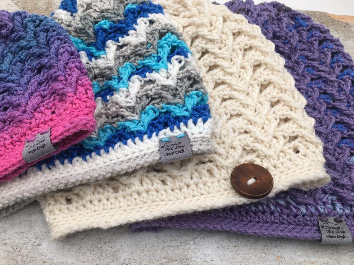 Sheridan Ridge Slouchy Beanie Free Crochet Pattern