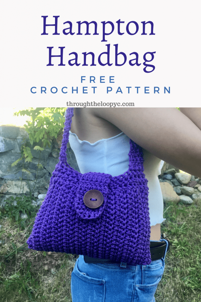 Hampton Handbag Free Crochet Pattern